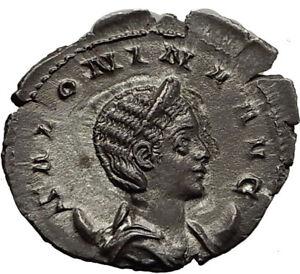 SALONINA-Gallienus-wife-254AD-Authentic-Ancient-Silver-Roman-Coin-VENUS-i65401