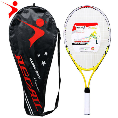REGAIL 1 Pcs Only Teenager/'s Tennis Racket Aluminium Alloy  Frame with Firm Z5K8