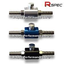 R-Spec Pro Inline Fuel Pressure Adaptor For FPR Gauge Regulator Pump Rail Hose