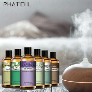 PHATOIL 100ml Natürliche Ätherische Öle Diffusor Öl Aromatherapie Spa Massage Öl