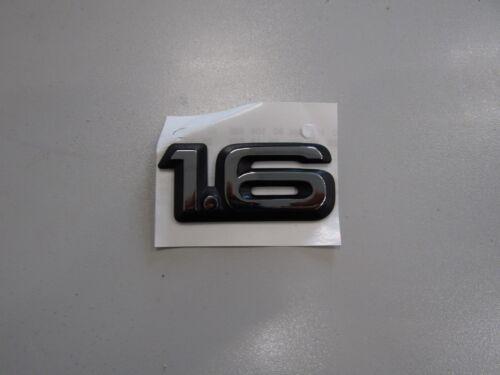Schriftzug Emblem 1.6 chrom schwarz Ascona C Corsa A ORIGINAL OPEL 177977