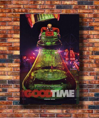 Good Time Robert Pattinson Benny Safdie Movie Silk Art Poster C-1111 36x24 40x27