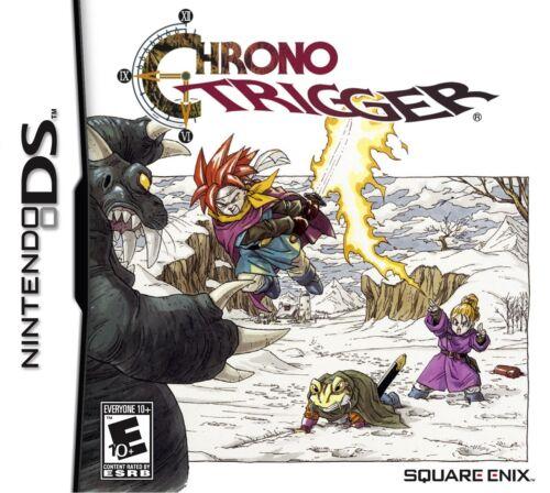 Chrono Trigger DS BRAND NEW Nintendo DS/DSi/DSi XL Very Rare! Square Enix