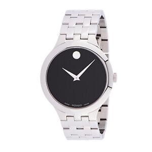 Movado 0607415 Men's Veturi Black Quartz Watch
