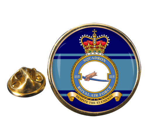 No 115 Squadron Royal Air Force ® Lapel Pin Badge Gift RAF