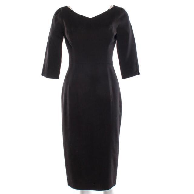 House of Cards Leann Harvey Neve Campbell Screen Worn Black Halo Dress Ep 506