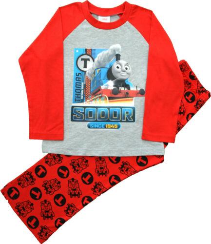 TT22 garçons Thomas et Friends THOMAS TANK ENGINE Pyjamas Taille 12 mois à 5 ans