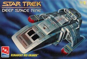 AMT-ERTL-1-72-Star-Trek-Deep-Space-Nine-Runabout-Rio-Grande-Plastic-Kit-8741U