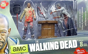"Figuren Morgan With Impaled Walker 5"" Inch /12cm Figuren The Walking Dead Mcfarlane Toys Sammeln & Seltenes"