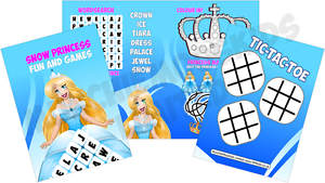 Pack-of-12-Ice-Princess-Fun-and-Games-Activity-Sheets-Frozen-Party-Bag-Fillers