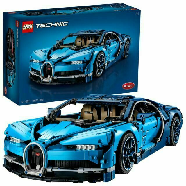 Custom Bugatti Chiron Compatible Technic 42083