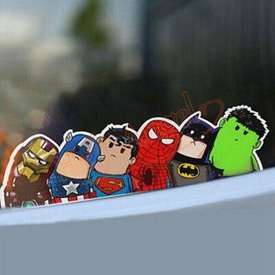 1PCs The Avengers Car Truck Auto Window Windshield Sticker DIY Film Wrap Decals