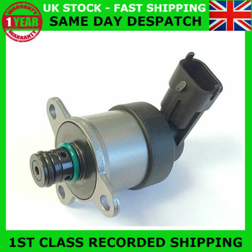 FUEL PUMP PRESSURE REGULATOR CONTROL VALVE FIT VAUXHALL OPEL 2.0 2.3 CDTI DCI D