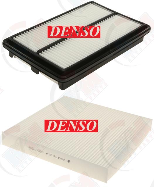 DENSO Engine Air Filter + Cabin Pollen Filter For 2010