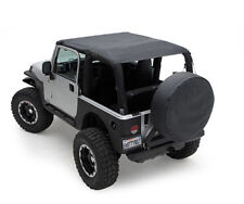Smittybilt Extended Top 97-06 Jeep Wrangler TJ 93615 Black Denim