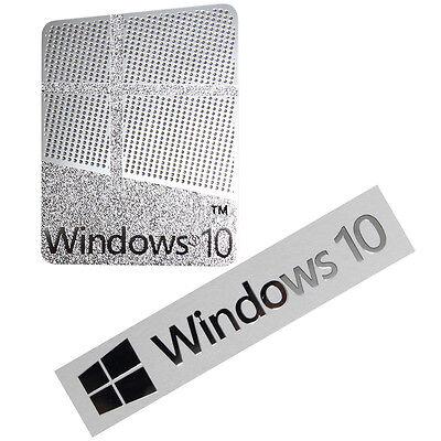 windows 10 laptop sticker collection on ebay. Black Bedroom Furniture Sets. Home Design Ideas