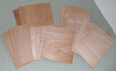 5 sheets of 3mm PLYWOOD Size = 190mm x 295mm - Models Crafts Painting PLY