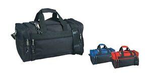 5c16b3208f1c 1 Dozen Duffle Multi-Color Bags Travel Size Sports Gym Bag 20 ...