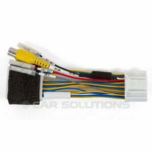 rear view camera connection cable for renault and dacia. Black Bedroom Furniture Sets. Home Design Ideas
