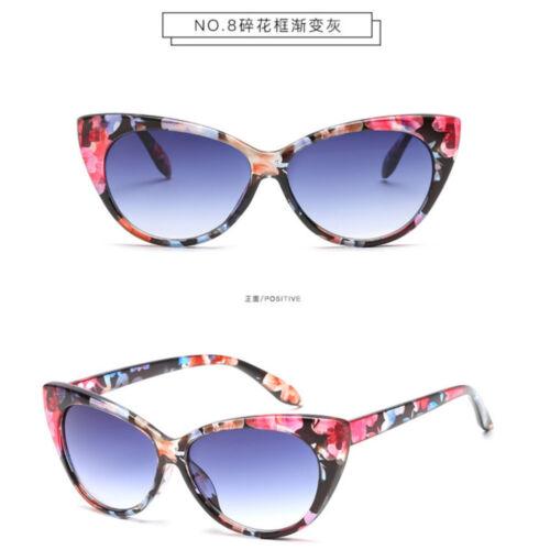 Fashion Women Cat Eye Sunglasses Retro Classic Leopard Frame Clear Lens Glasses