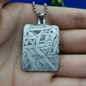 Meteorite-pendant-seymchan-amulet-jewelry-iron-mineral-necklace-accessory-10-5gm
