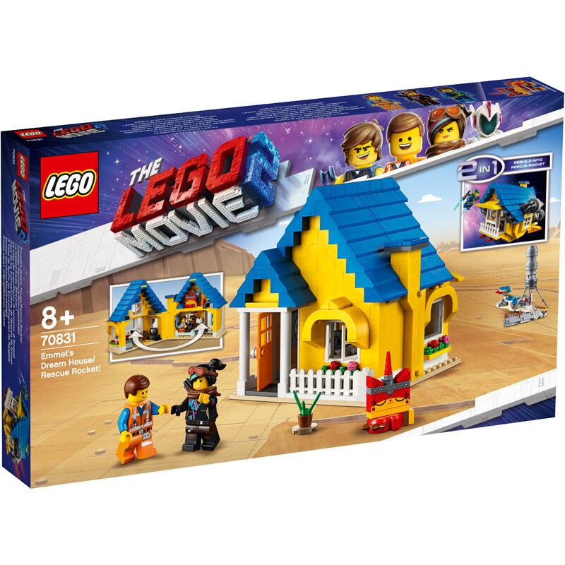 Lego The Lego Movie 2 Emmet's Dream House Rescue Rocket  - 70831 - NEW