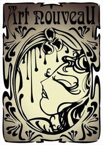 A3 A2 Art Nouveau By Alphonse MuchaVintage PosterA1