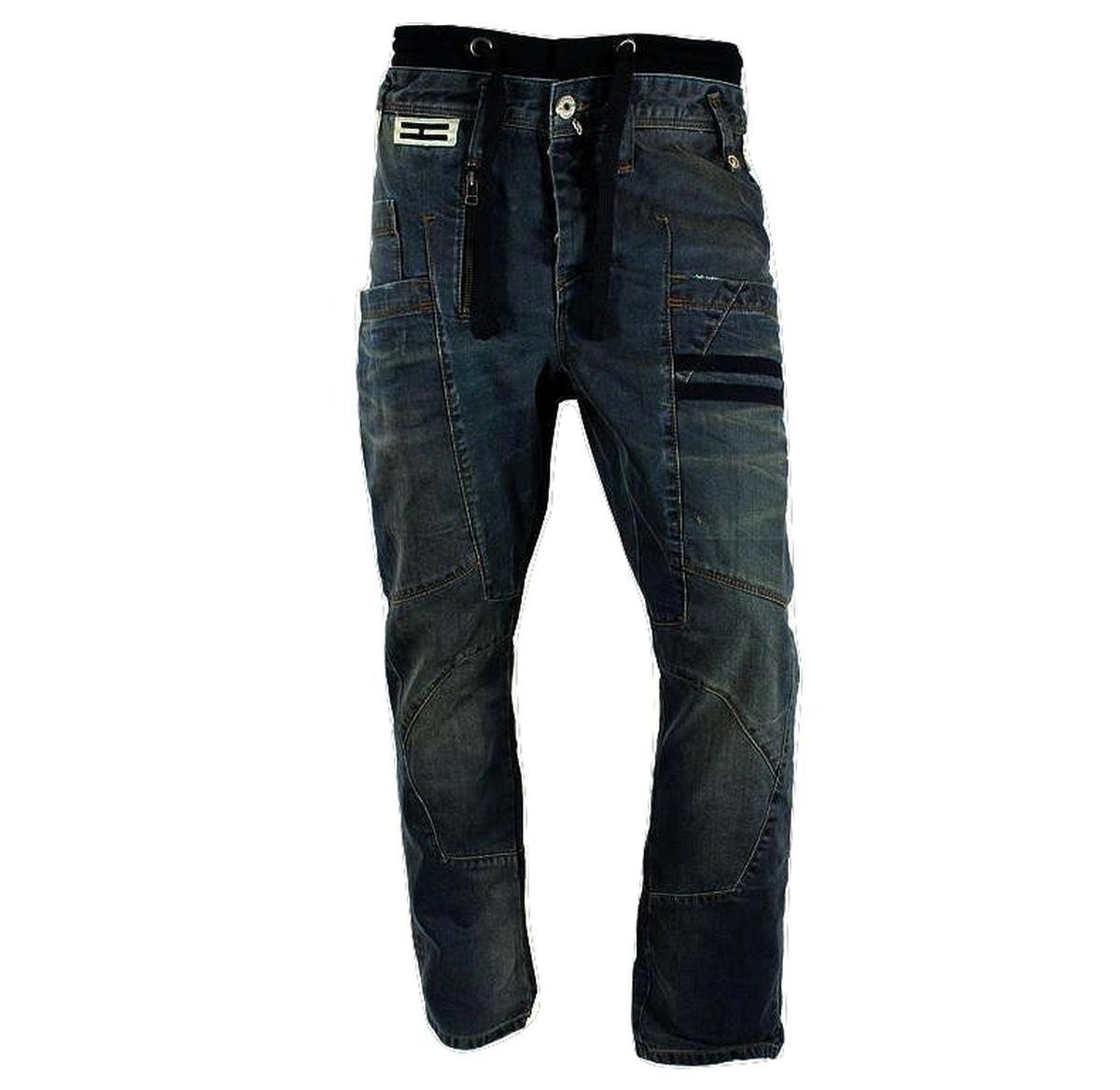 Acton Délavé Jeans Carotte Coupe Henleys Homme pWOfBnR