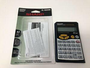 Sharp EL-480S Business Electronic Calculator EL-480SR 10 Digit ELSI MATE