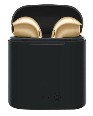 Auricolari Cuffie Android mini Airpods Apple Bluetooth Nero Compatibili i7s ZrrwStx