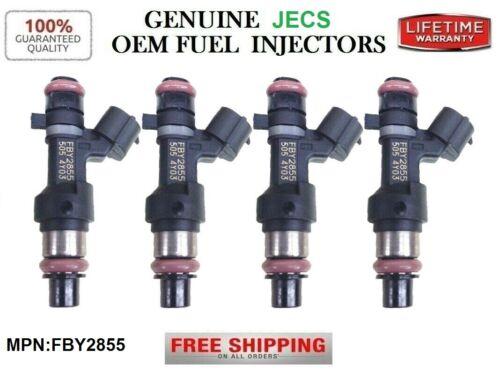 Set//4 Genuine OEM Jecs Fuel Injectors for 2015-2016-2017 Nissan Altima 2.5L I4