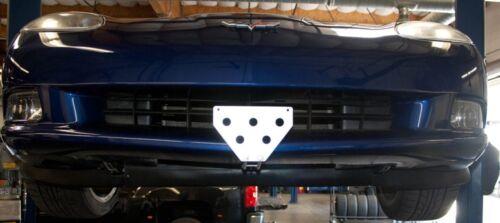 License Plate Bracket for 2005-2013 C6 Corvette Removable, Metal, Take Off