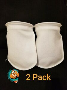 Two-2-Filter-Socks-7-034-x-12-034-Felt-200-Micron-sock-Aquarium-Reef-Wet-Dry-Sump