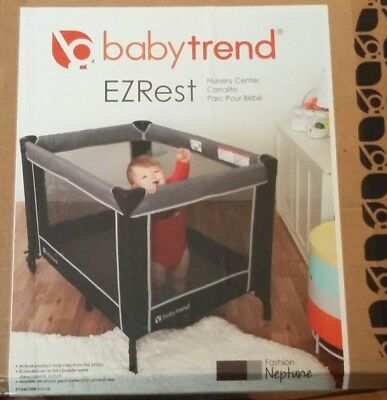 Sincere Baby Trend Ezrest Nursery Center Baby Gear