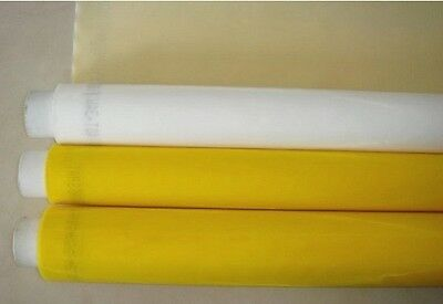 Screen Printing Mesh 80 Mesh Count 3 Yards Silk Fabric Polyester White