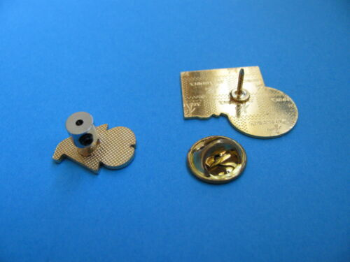 Locks 12 Pin Badge Keepers replace butterfly back fixings to keep badge safe.