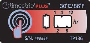 Timestrip Non Réversible Température Étiquette Indicateur, 30Â C Kz4e5j9q-10103600-636721435