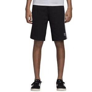 a5f625da1a Details about adidas 3-Stripes Shorts Black Men