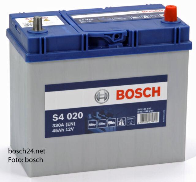 Bosch Starterbatterie S4 12V 45Ah   0092S40200
