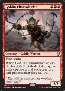 Goblin-Chainwhirler-x4-Magic-the-Gathering-4x-Dominaria-mtg-card-lot
