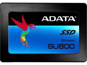 ADATA Ultimate SU800 512GB 3D NAND 2.5 Inch SATA-III Internal Solid State Drive