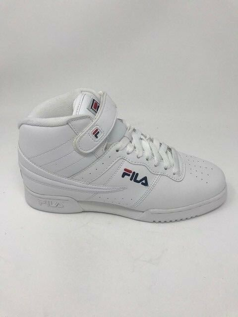 Homme Fila F-13V Smooth Leather/Synthetic Triple Blanc 1VF060LX-Brand New