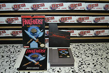 Final Fantasy NES Nintendo * IN Box + Manual