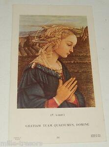 Image Pieuse Souvenir Profession de Foi : GRATIAM TUAM QUAESUMUS, DOMINE