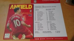 LIVERPOOL-V-MANCHESTER-UNITED-2014-15-PREMIER-LEAGUE-WITH-TEAM-SHEET