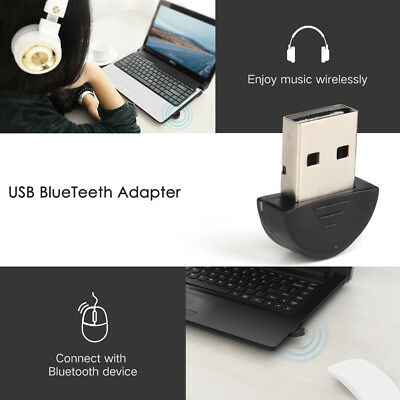 Bluetooth USB Adapter for PC LAPTOP Stereo Music VOIP Keyboard  All Windows 10
