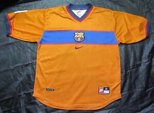 quality design f4183 3771d Barca 1998-2000 NIKE FC Barcelona Third shirt jersey ...