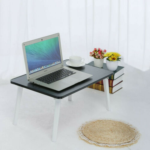 Portable Folding Laptop Desk Computer Table Bed Sofa Lap Desk Stand Holder Tray