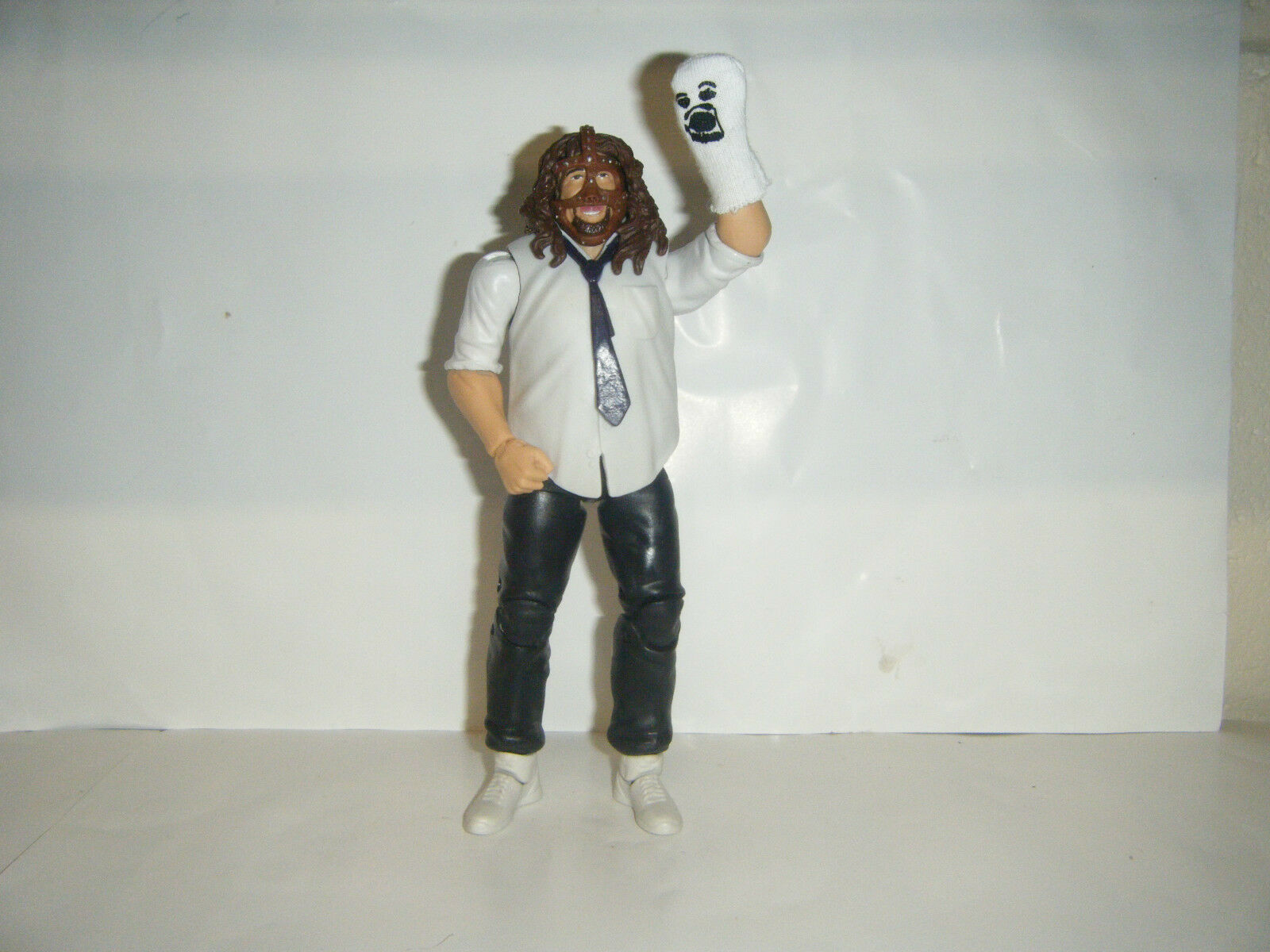Wwe Mankind Elite Series 17 Superstar De Acción Mattel Lucha Libre Figura