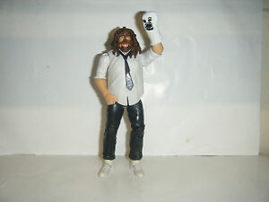 WWE-MANKIND-ELITE-SERIES-17-SUPERESTRELLA-ACCIoN-FIGURA-DE-LUCHA-MATTEL